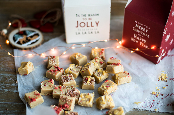 Creamy sea-salted fudge: the perfect gift - Jamie Oliver | Features