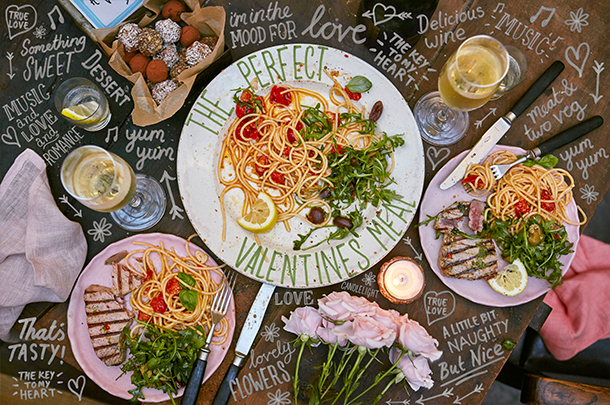 A dreamy diy valentine s meal jamie oliver features for Valentine s day meals to cook together