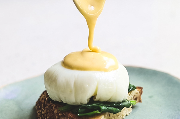 Step-by-step: perfect hollandaise sauce
