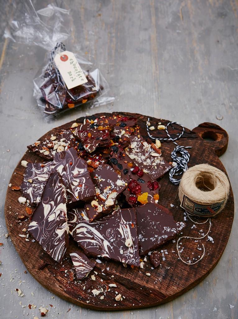 Beautiful homemade chocolate bark - Jamie Oliver | Features
