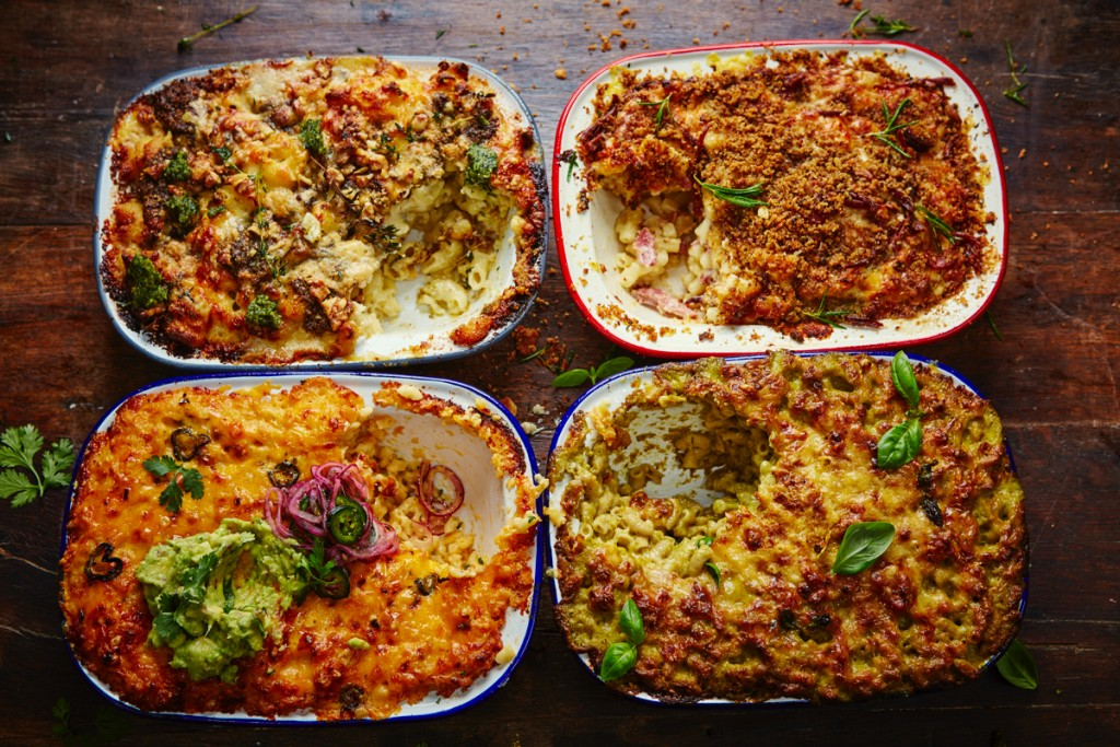Incredible Mac 39 N 39 Cheese Four Ways Jamie Oliver Features
