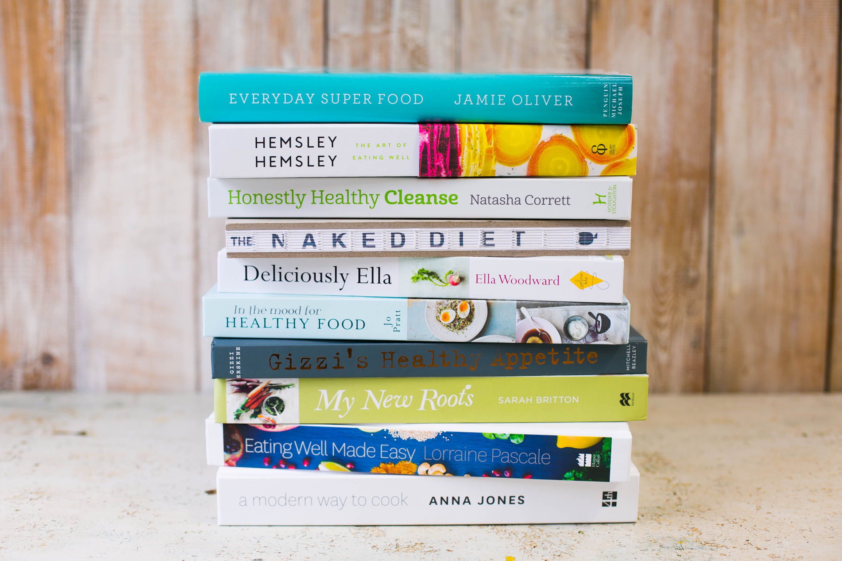 Healthy-eating cookbooks