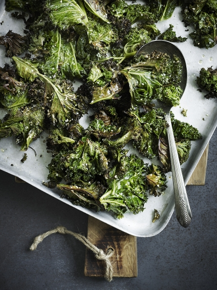 Image of sesame roasted kale