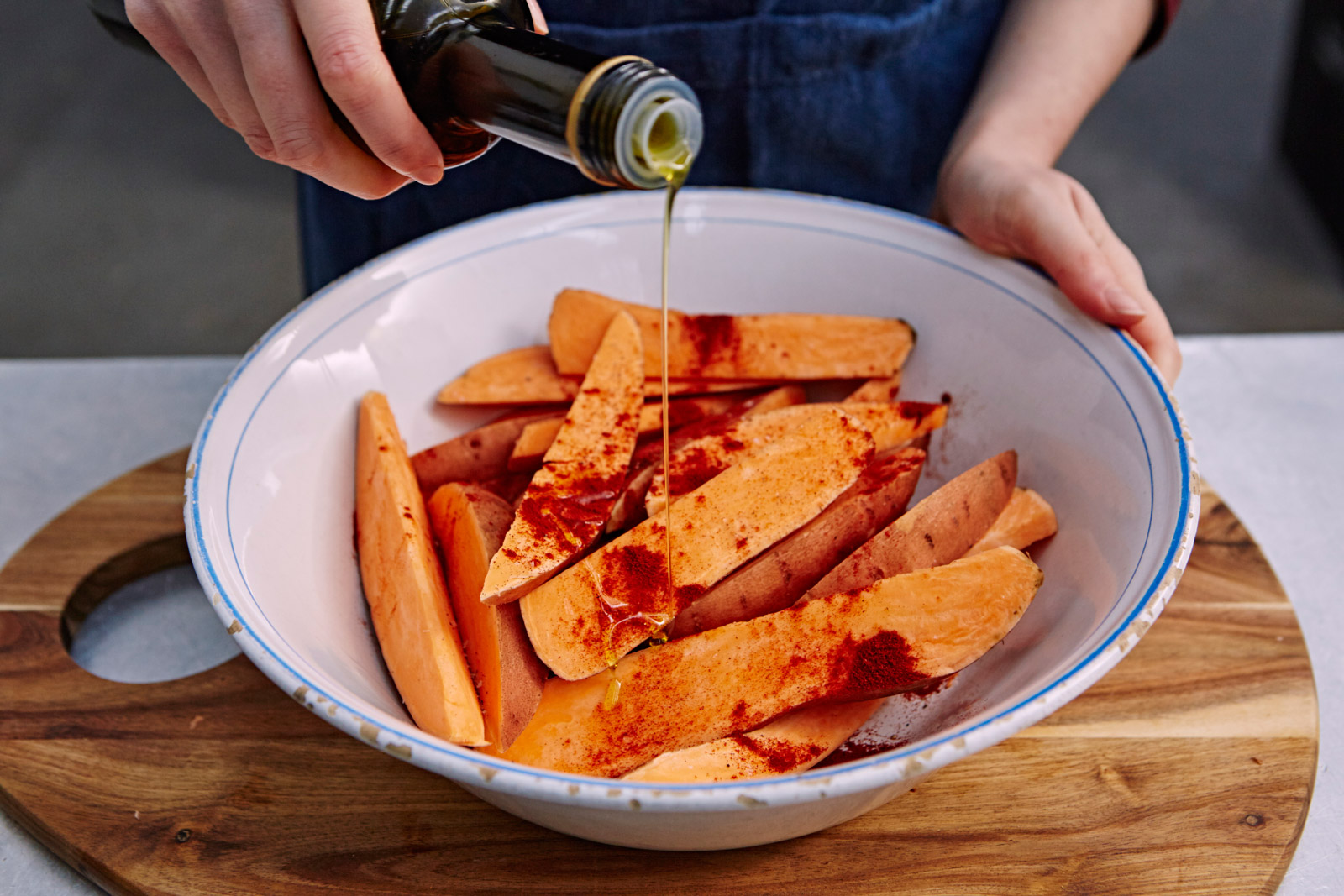 How to make sweet potato fries | Features | Jamie Oliver