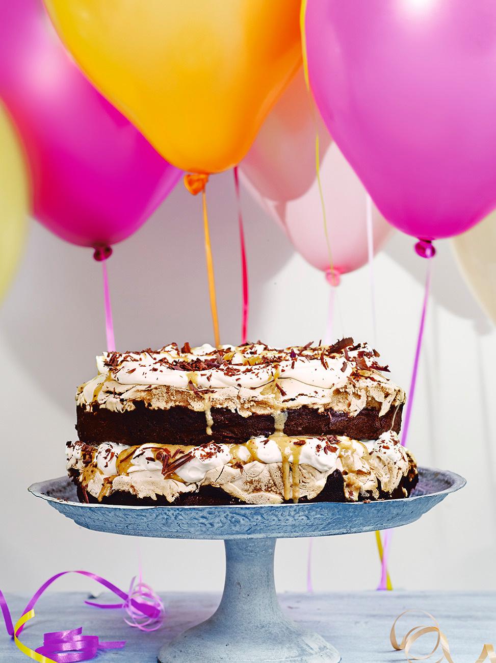 Jamie Oliver Chocolate Surprise Cake