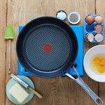 Eggs and frying pan