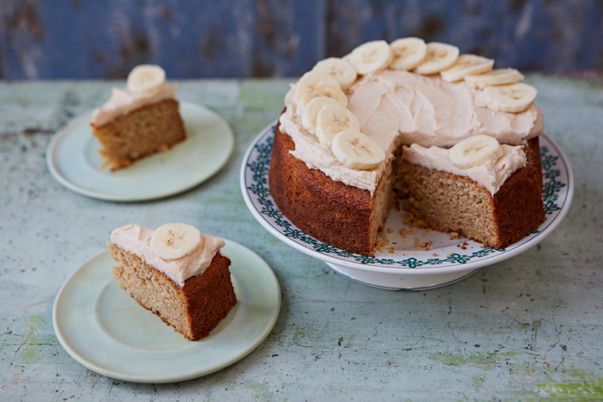 wondered how to make the most perfect, melt-in-the-mouth banana cake ...