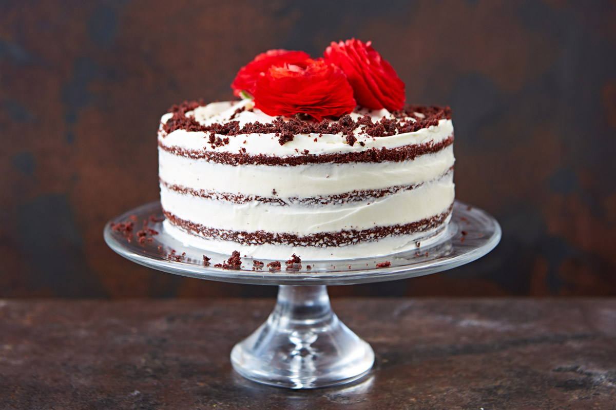 Images Of Red Cake : How to make red velvet cake - Jamie Oliver Features