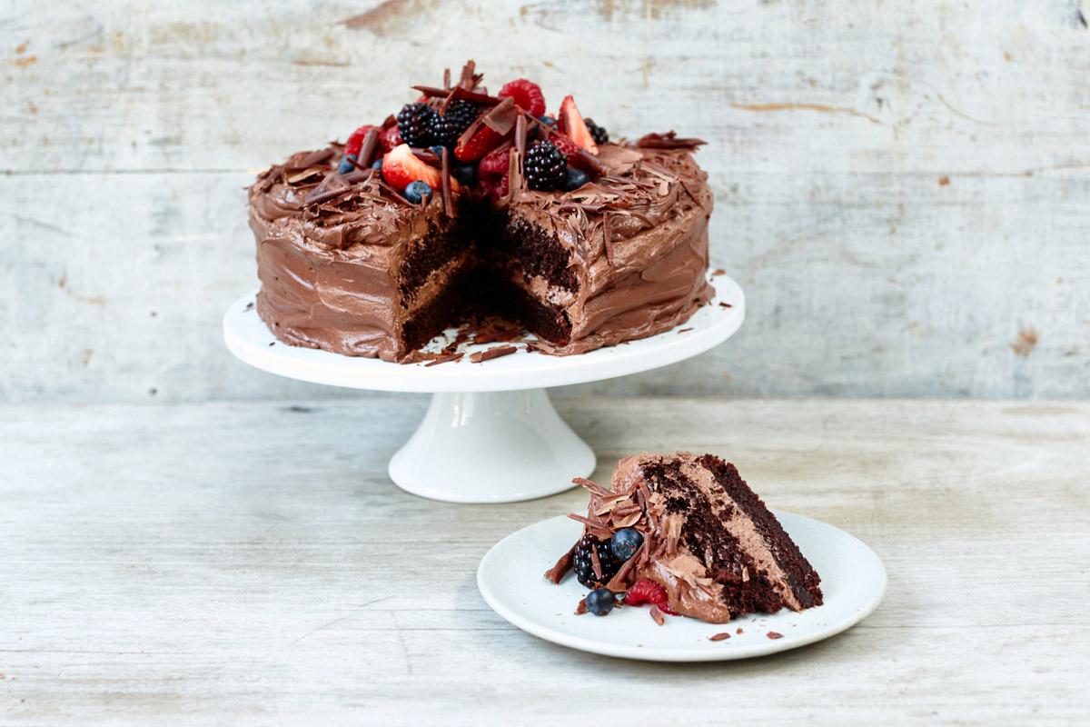 Jamie Oliver Recipe For Cake: How To Make Classic Chocolate Cake - Jamie Oliver