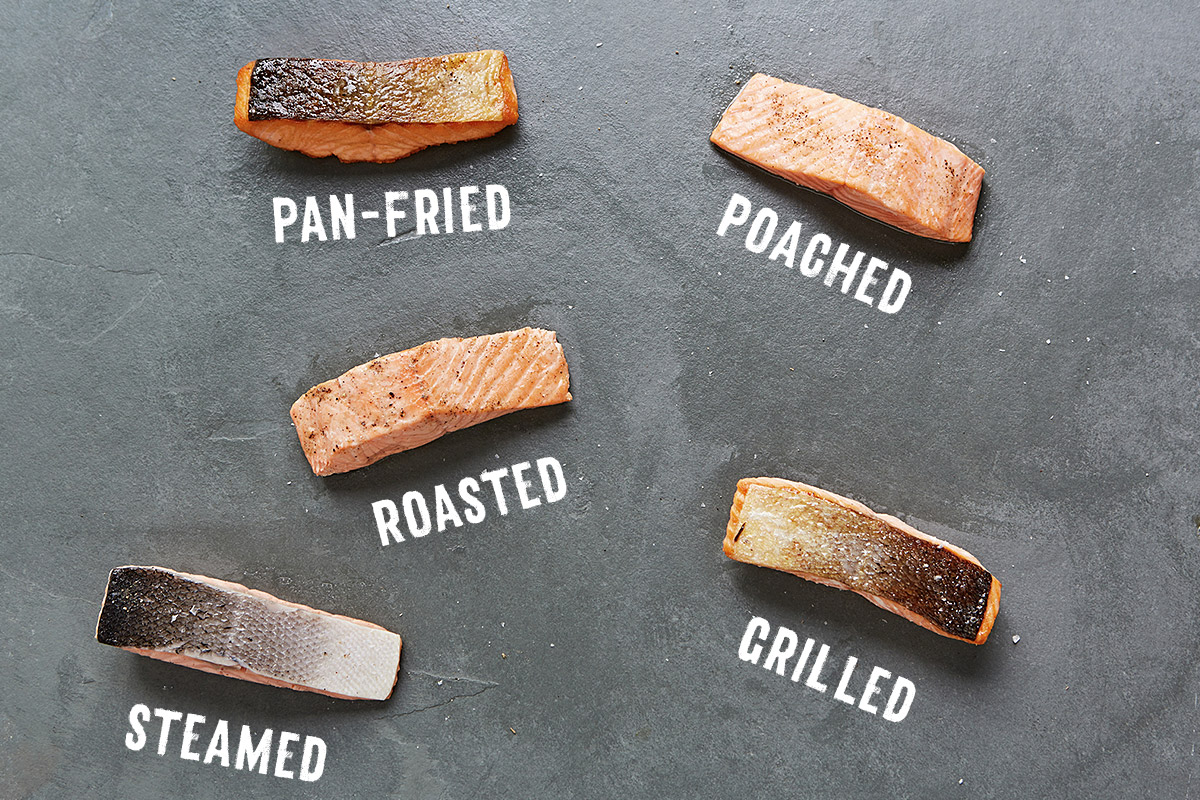 The Great Thing About Salmon Is That You Can Cook It In So Many Different  Ways If You Use Fresh Wild Salmon, Make Sure It's Cooked Properly And Has  Reached