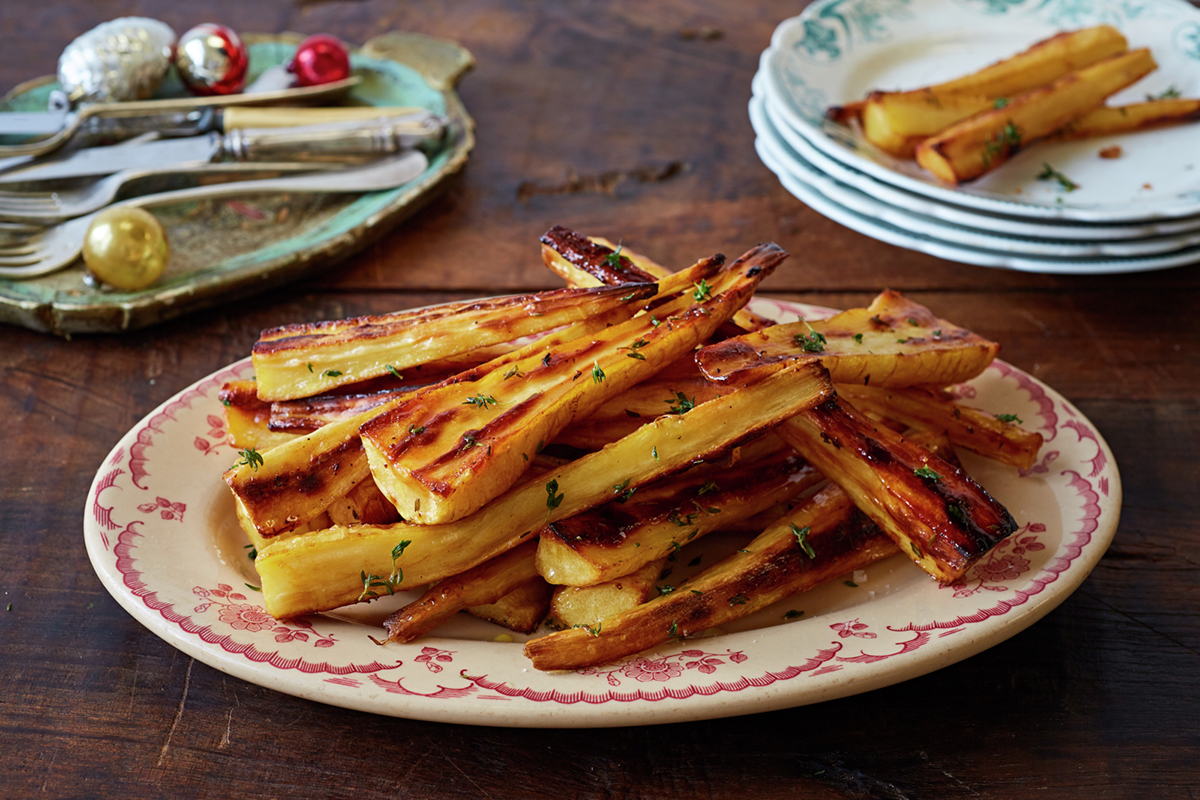 How to make roast parsnips