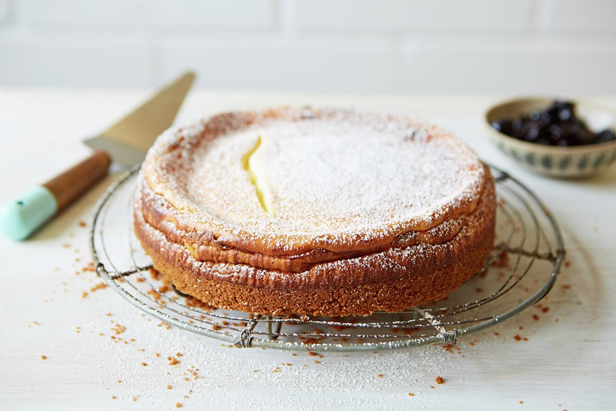 Jamie Oliver Vanilla Cheesecake Recipe: How To Make Cheesecake - Jamie Oliver