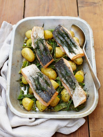 5 Ways To Try Salmon Features Jamie Oliver