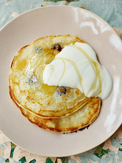 Low-sugar recipes – pancakes
