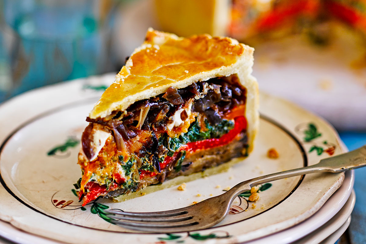 Sharing dishes - picnic pie