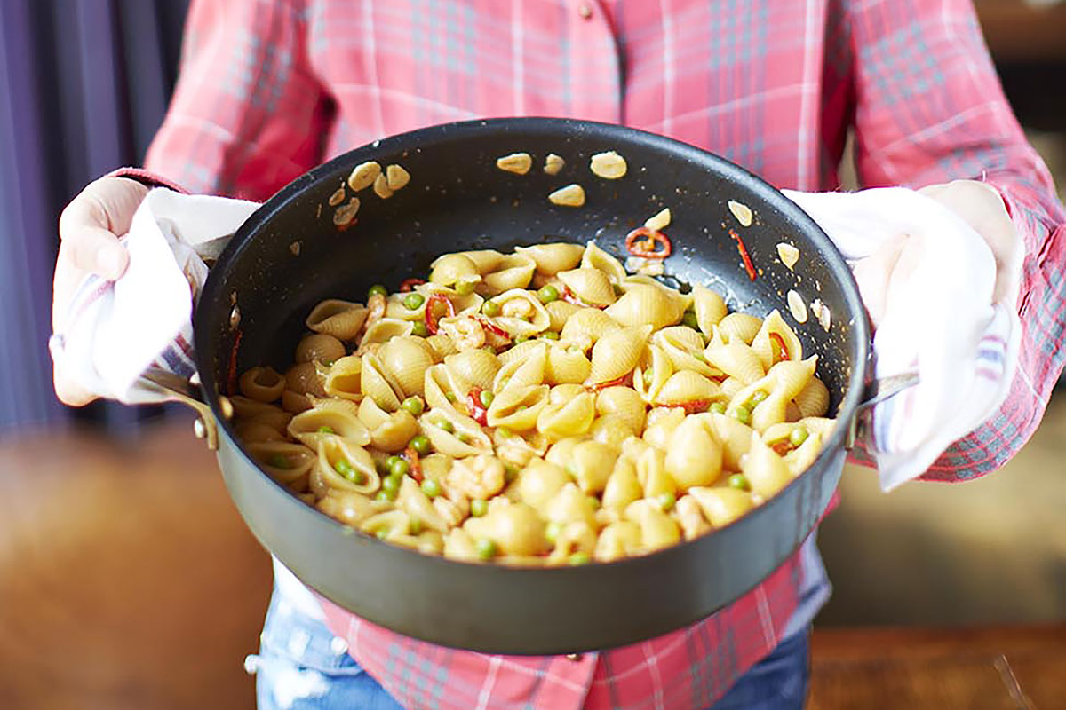 The best-ever seafood pasta recipes – Jamie Oliver | Features