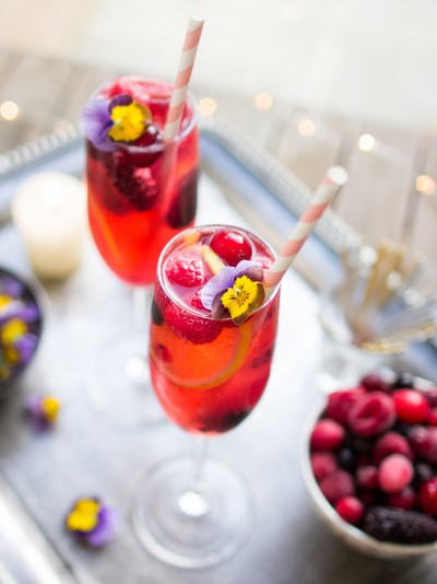Summer dinner party - drinks