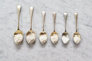 6 flours and how to use them