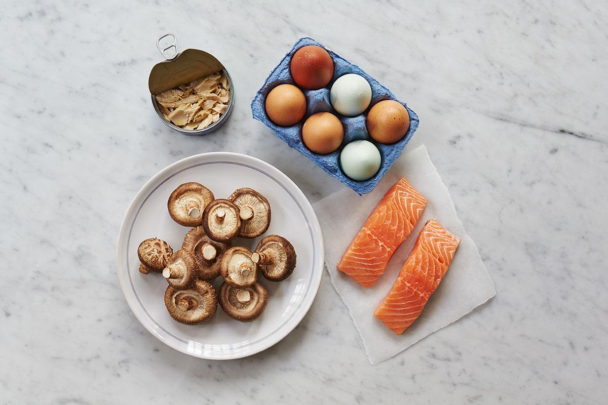 vitamin D - ingredients