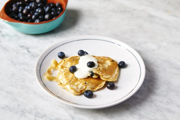 9 twists on Jamie's One-cup pancakes with blueberries