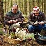 Foraging mushrooms with Gennaro