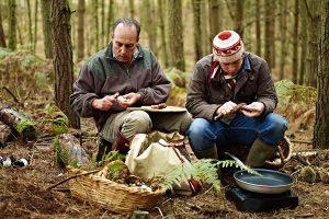 Mushroom foraging with Gennaro