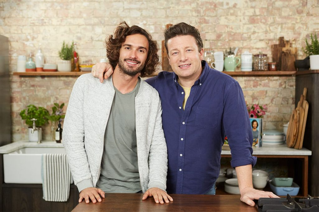 Joe Wicks and Jamie Oliver Q&A