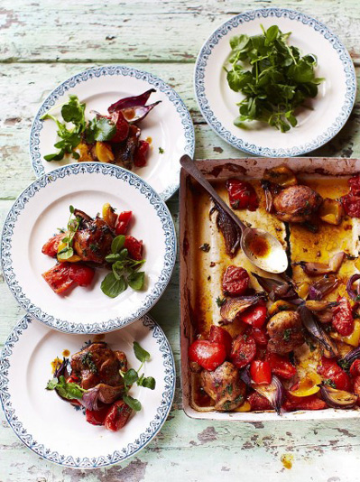 Hit 'n' run traybake chicken recipe