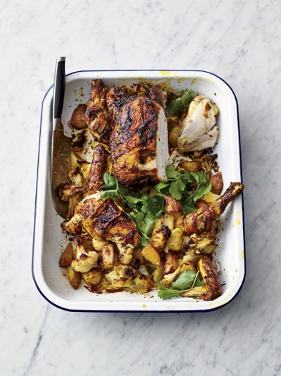 Roast tikka chicken recipe