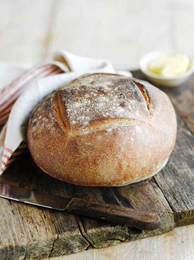Image of baked sourdough
