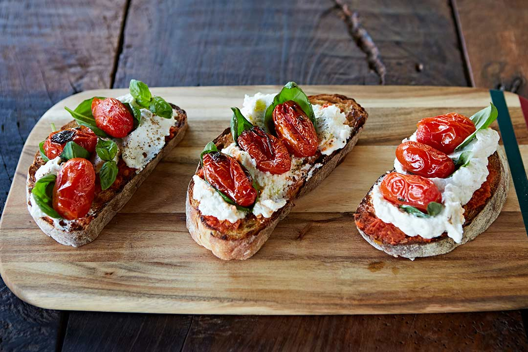 Tomato bruschetta recipes