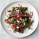 summer salad recipes, carrot and grain salad