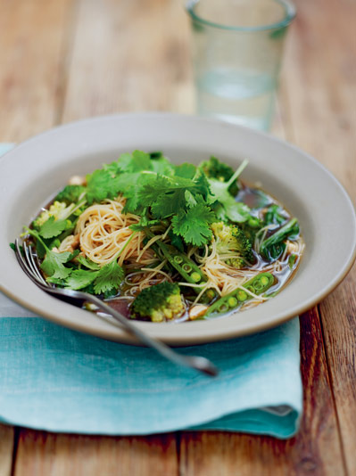 Green dream noodles - vegetarian recipes