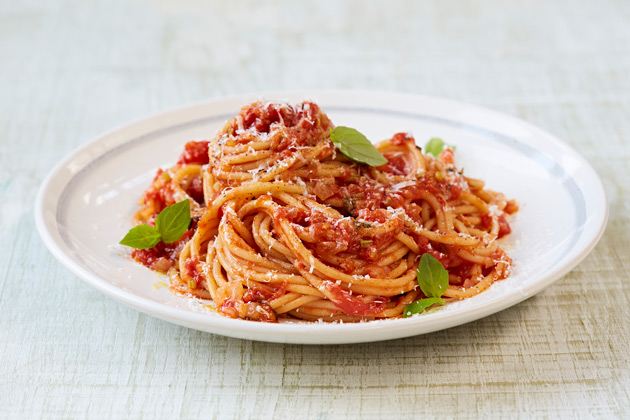 Italian recipes and dishes feature