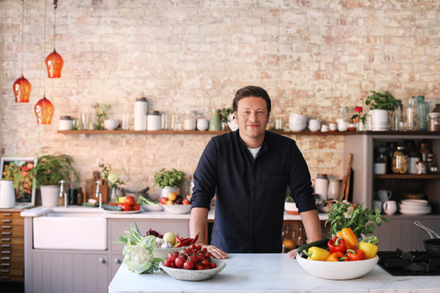 Jamie Oliver partners with Tesco