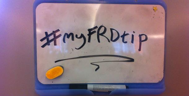 #myFRDtip-News-story