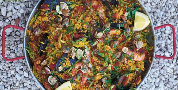 jamie oliver paella