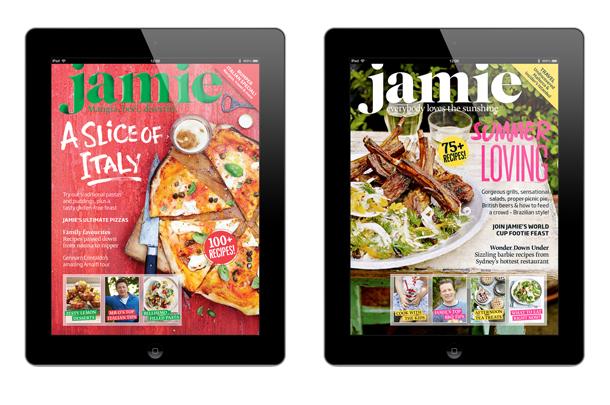 Jamie magazine ipad app