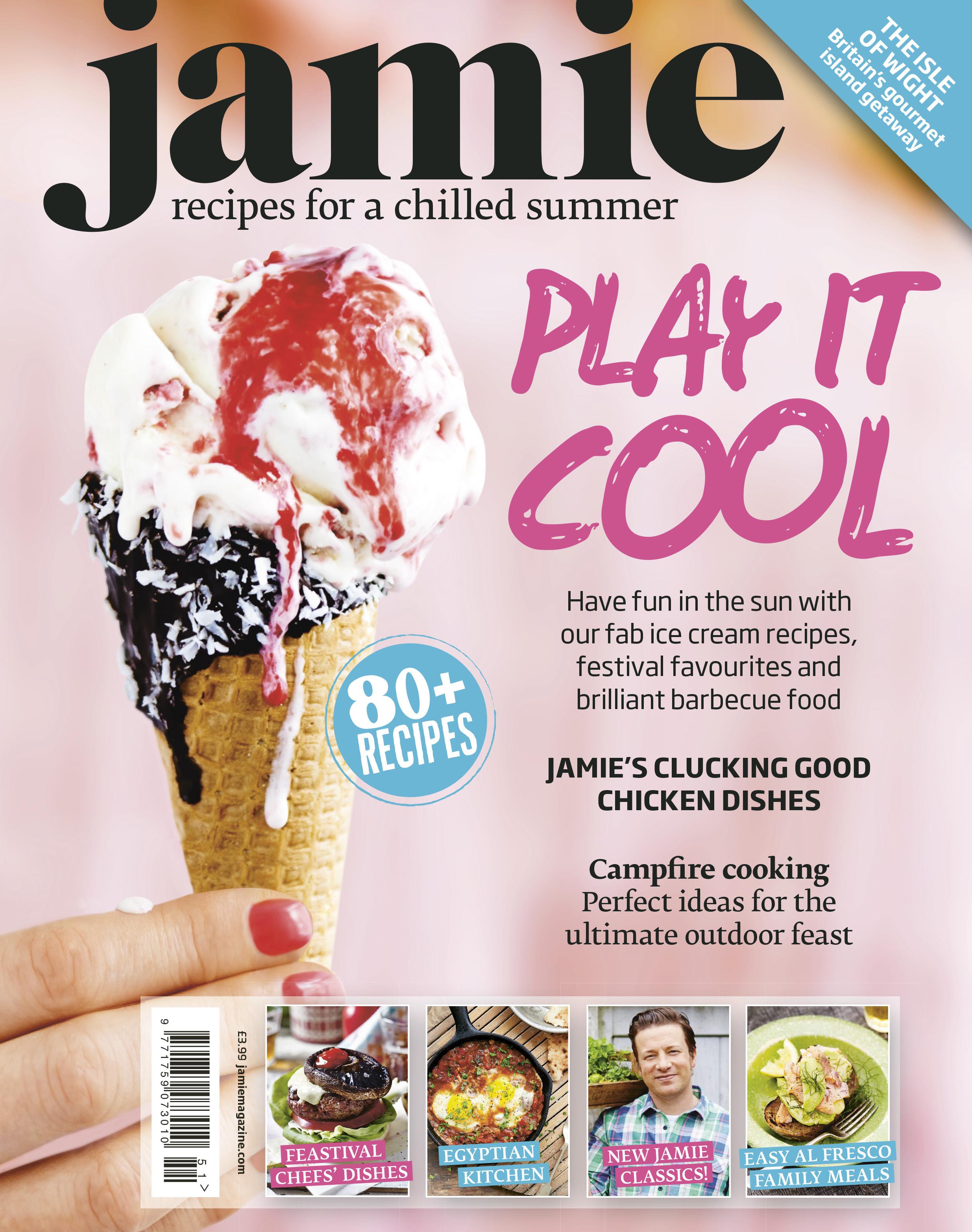 Jamie magazine summer issue cover