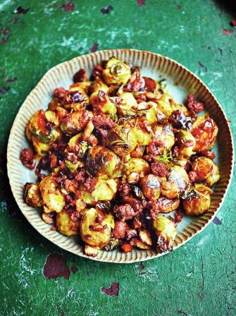 Squashed Brussels | Vegetables recipes | Jamie Oliver recipes
