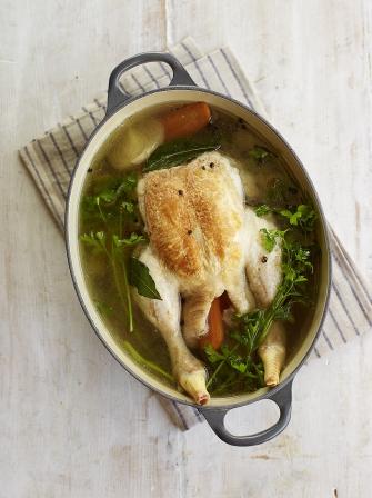 Poached Chicken Chicken Recipes Jamie Magazine Recipes