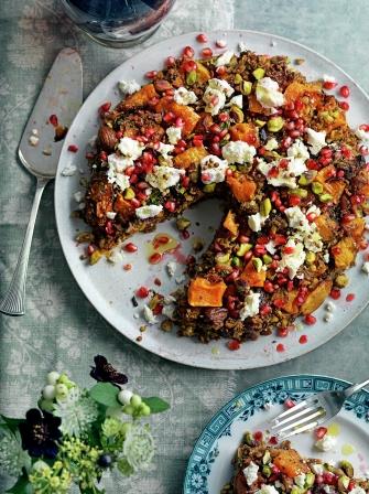 Persian Squash Amp Pistachio Roast Vegetable Recipes Jamie Magazine