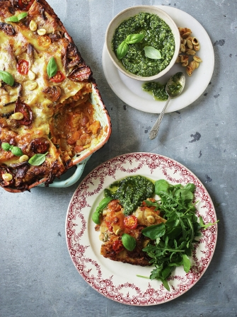 John Bishop's ultimate veggie lasagne
