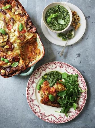 Ultimate Veggie Lasagne Vegetable Recipes Jamie Oliver