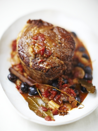 Beef Brisket With Red Wine Amp Shallots Beef Recipes Jamie Oliver