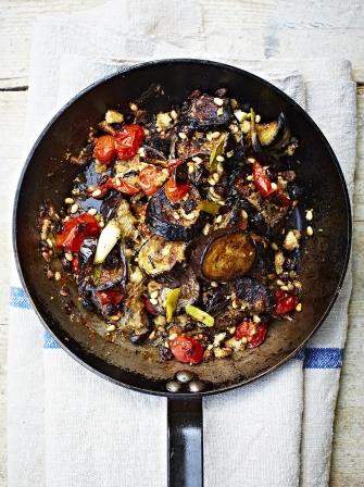 Aubergine Al Forno Vegetable Recipes Jamie Oliver