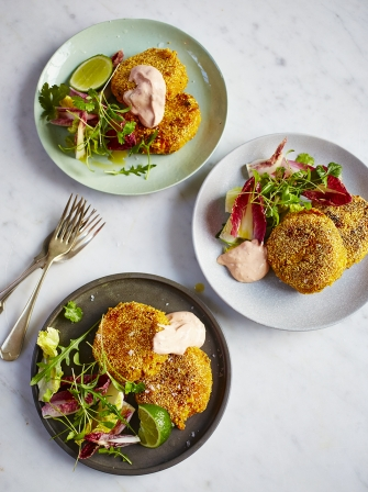 Jamie Oliver Baked Salmon Cakes