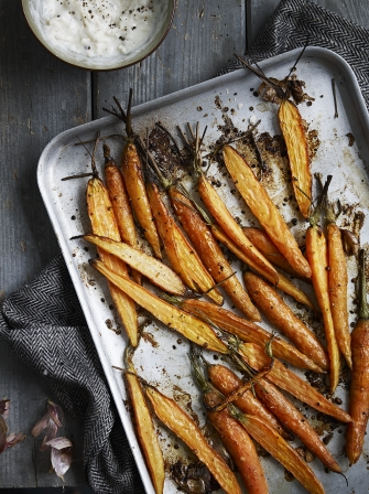 Carrots with Garlic Yoghurt | Vegetable Recipes | Jamie Oliver