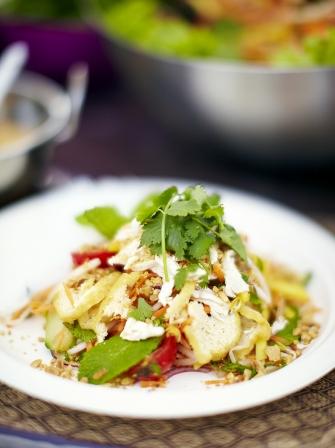 Chicken mango thai salad chicken recipes jamie oliver chicken green mango thai salad ccuart Gallery