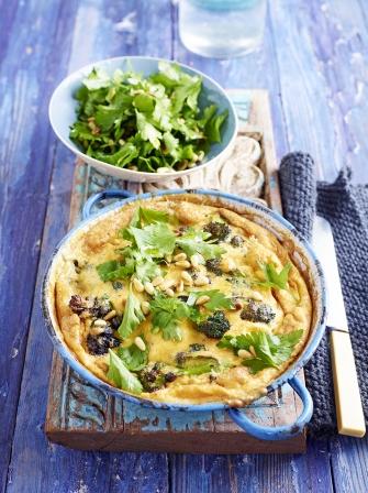Stilton broccoli frittata vegetables recipes jamie oliver stilton sprouting broccoli frittata forumfinder Images